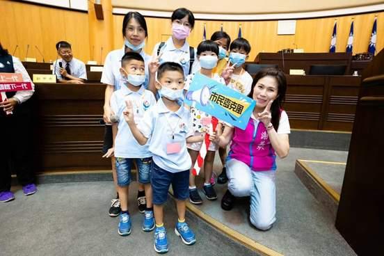 桃園市愛陪伴親子教育協會小小市議員體驗4