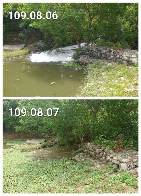 青塘園廢水
