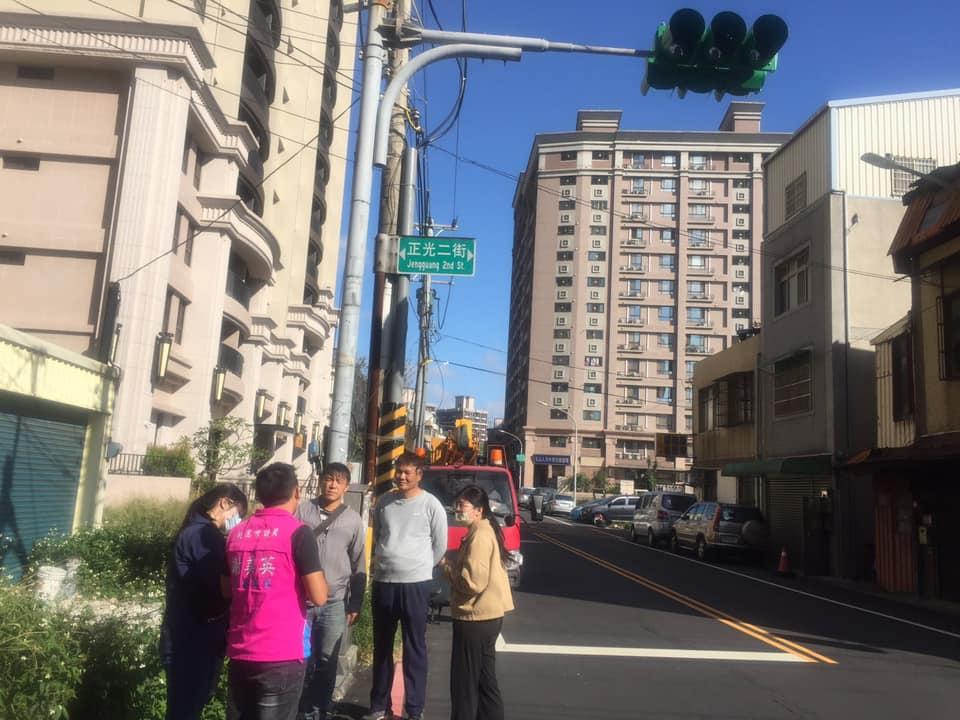 謝美英議員五族二街正光二街交通改善