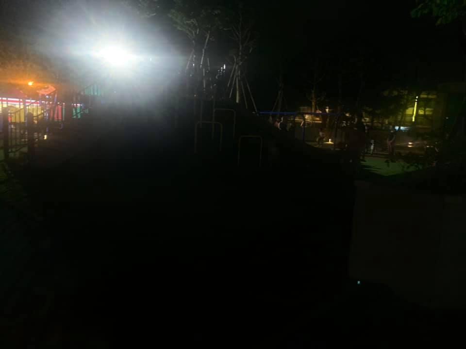 謝美英議員監督文化公園照明問題5